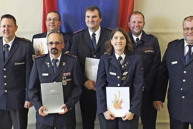 Wieder mehr junge Feuerwehrleute