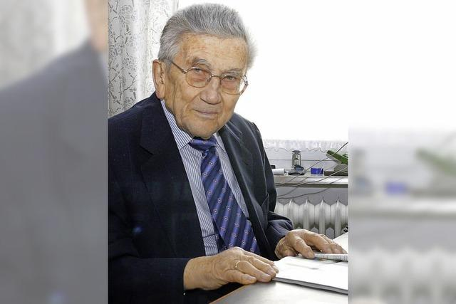 August Glatt ist im Alter von 97 Jahren gestorben