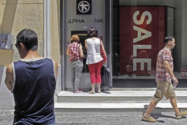 Griechenlands Banken sind immer noch marode