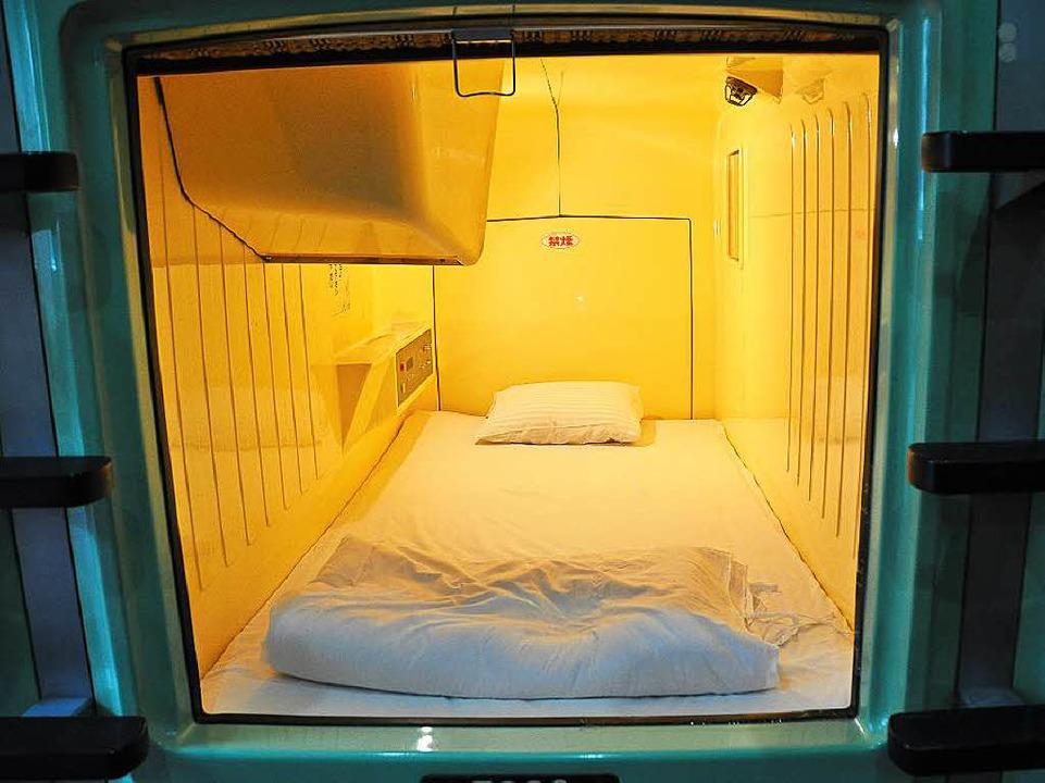 Für einen Fernseher ist immer Platz.  | Foto: Gerhard Liebenberger