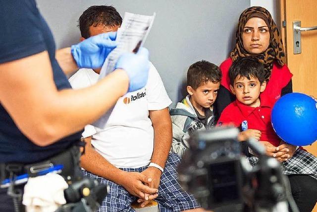 Weiler Polizei ist wegen der Flüchtlinge am Limit