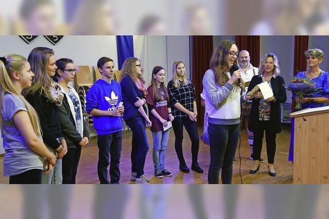 Festakt 35 Jahre Partnerschaft zwischen Stühlingen und Bellême