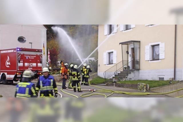 Auf die Gündelwanger Feuerwehr ist Verlass