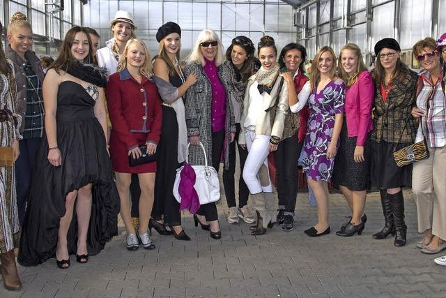 In Secondhand-Kleidern über den Catwalk
