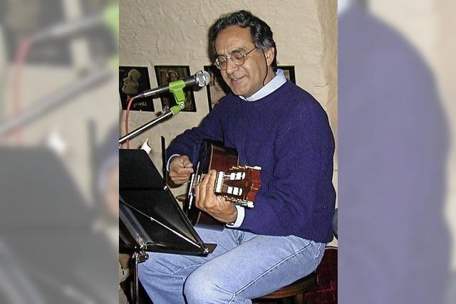 Mario Casartelli aus Paraguay spielt in Freiburg und Staufen