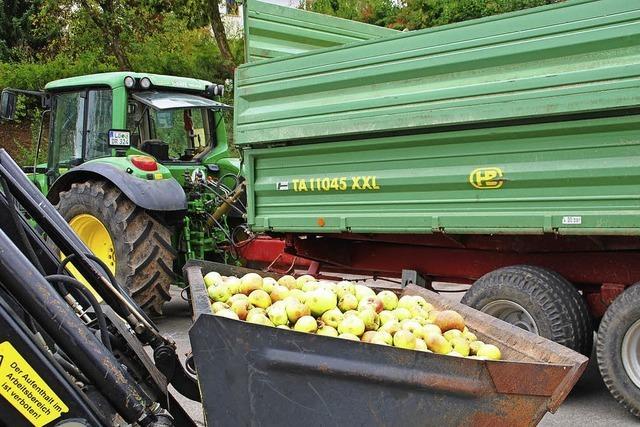 BUND-Apfelsaftaktion