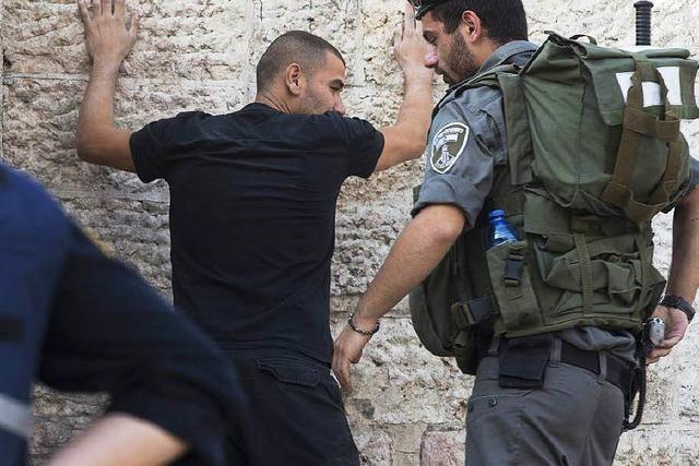 Jerusalem: Attentäter töten drei Israelis