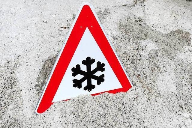 Winterdienst erwartet ersten Schnee auf dem Schauinsland