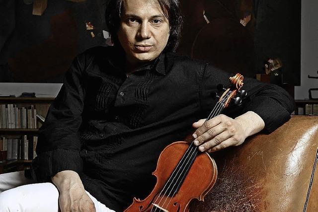 Violinair: Der Violinist Luca Ciarla gastiert im Jazztone