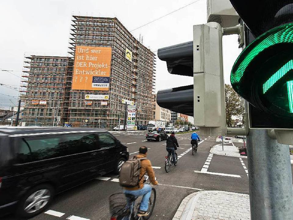 Baustelle ade: Die Berliner Allee ist kein Hindernisparcours mehr.  | Foto: Patrick Seeger