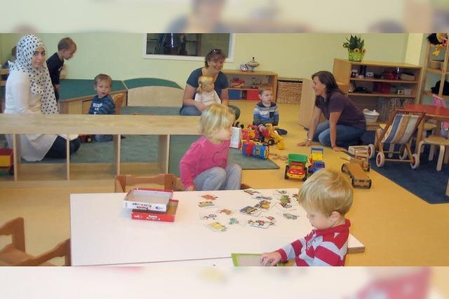 Drei Kindergruppen unter einem Dach