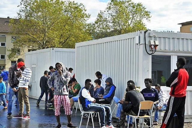 Freiburger BEA ist mit 900 Flüchtlingen fast voll