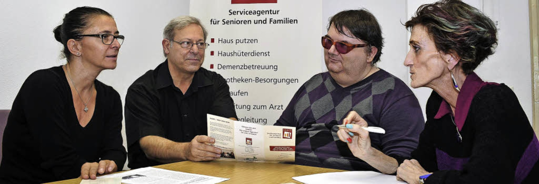 Alles muss organisiert sein: Ramona Wa...Eiche, Birgitta Bombardi (von links).   | Foto: kunz