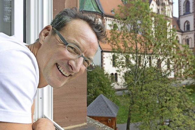 Dennis Dietrich leitet die Hebelschule im Stühlinger