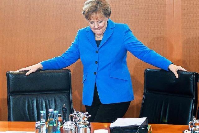 Uneinigkeit bei der Union über Merkels Flüchtlingspolitik