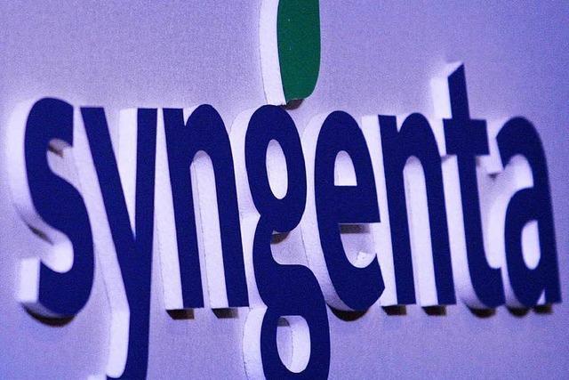 Weniger Umsatz bei Syngenta