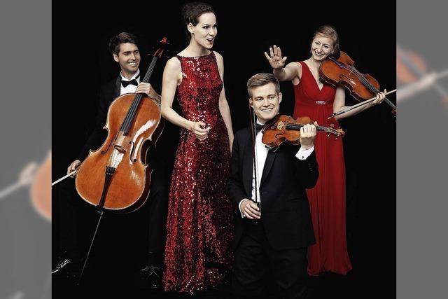 Quartett Notos spielt in der Oberrheinhalle Offenburg