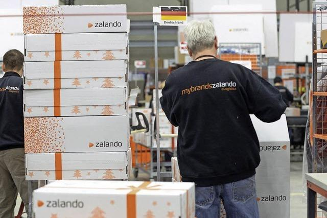 Zalando zahlt Löhne wie Logistiker