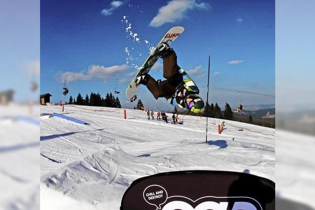 Snowboard-Elite startet am Feldberg