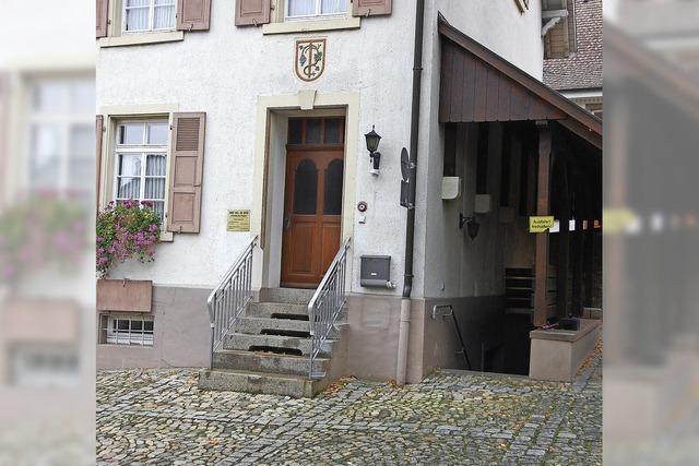 Rathauskeller für Vereine öffnen