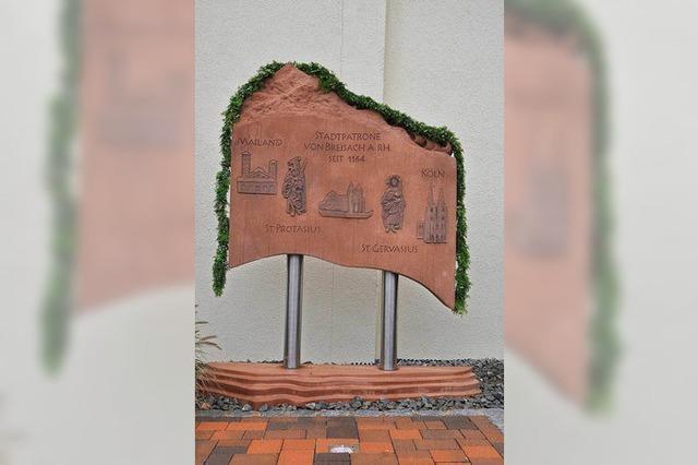 Ein Denkmal für Breisachs Schutzheilige
