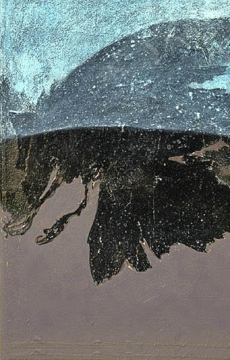 Die Malerin Ute Wilke stellt ihre Bilder derzeit im Breisacher Radbrunnen aus.   | Foto: Paul Klock