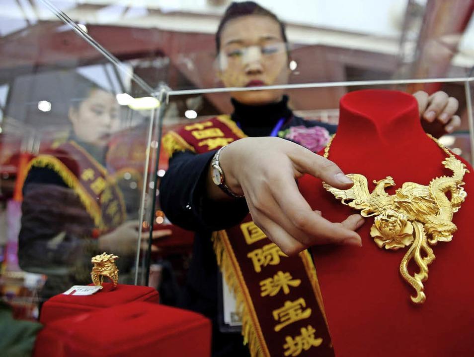 Hauptsache, gut sichtbar: Reichtum in China  | Foto: dpa