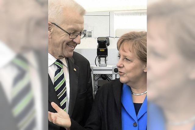 Die Merkel-Kretschmann-Koalition