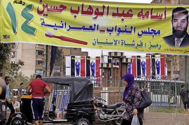 Viele Ägypter wollen nicht wählen