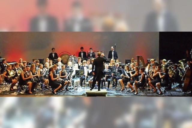Jugendverbandorchester Hochrhein in Höchenschwand