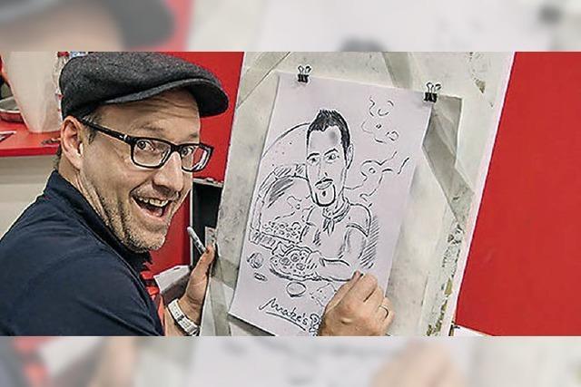 Comic-Workshop mit Harry dem Zeichner und Harald Meyer