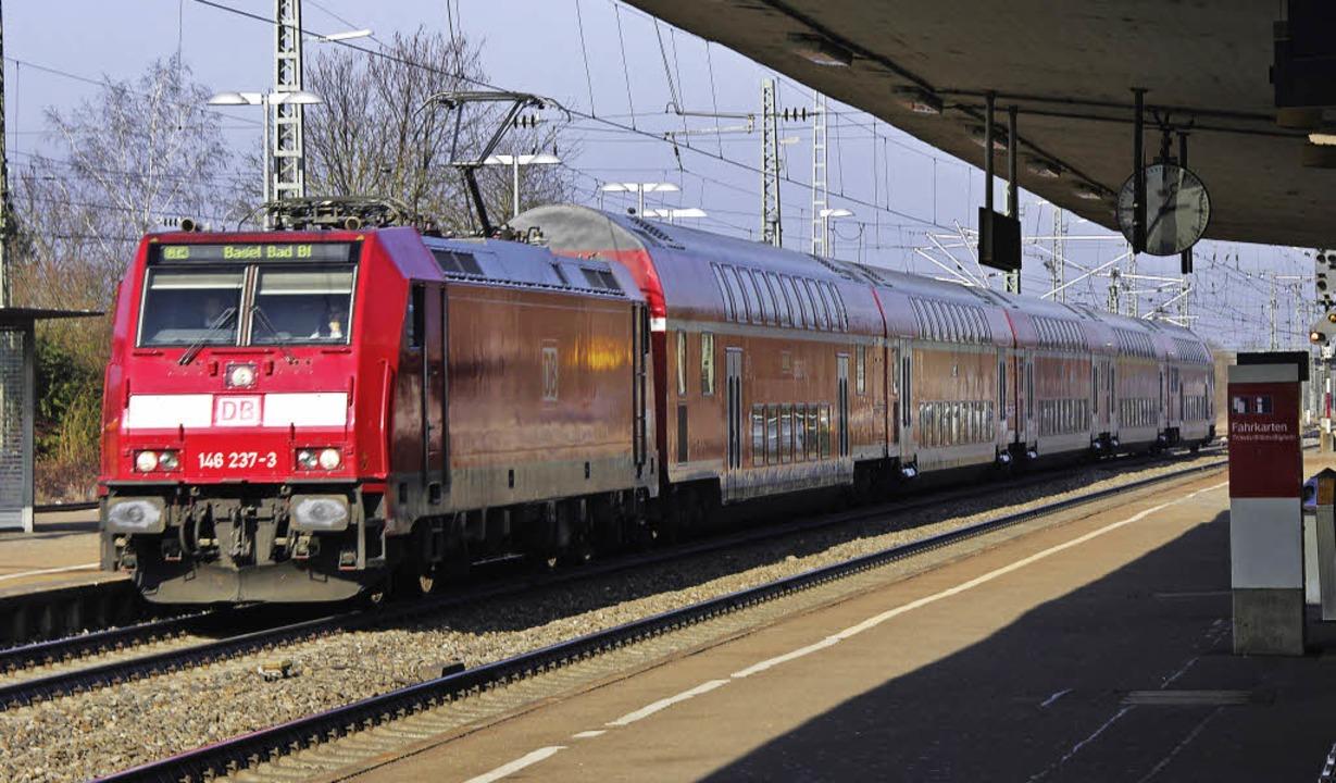 Jetzt kann der Klage-Zug in Richtung L...die Pläne der Bahn ausarbeiten lassen.    Foto: Martin Pfefferle