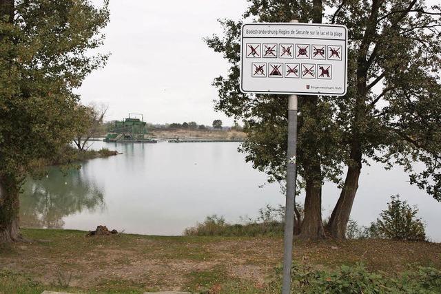 Bruder-Security kündigt - Wyhl braucht neuen Sicherheitsdienst für Baggersee