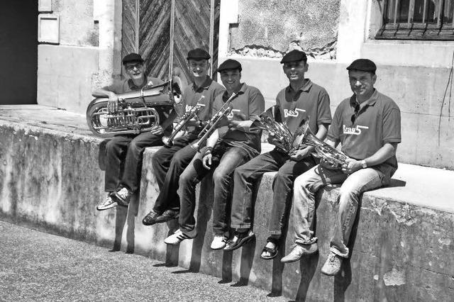 Das Quintett Brass 5 in Herbolzheim