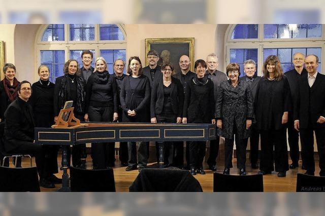 Kammerchor Ettenheim gibt zwei Konzerte in Lahr und Altdorf