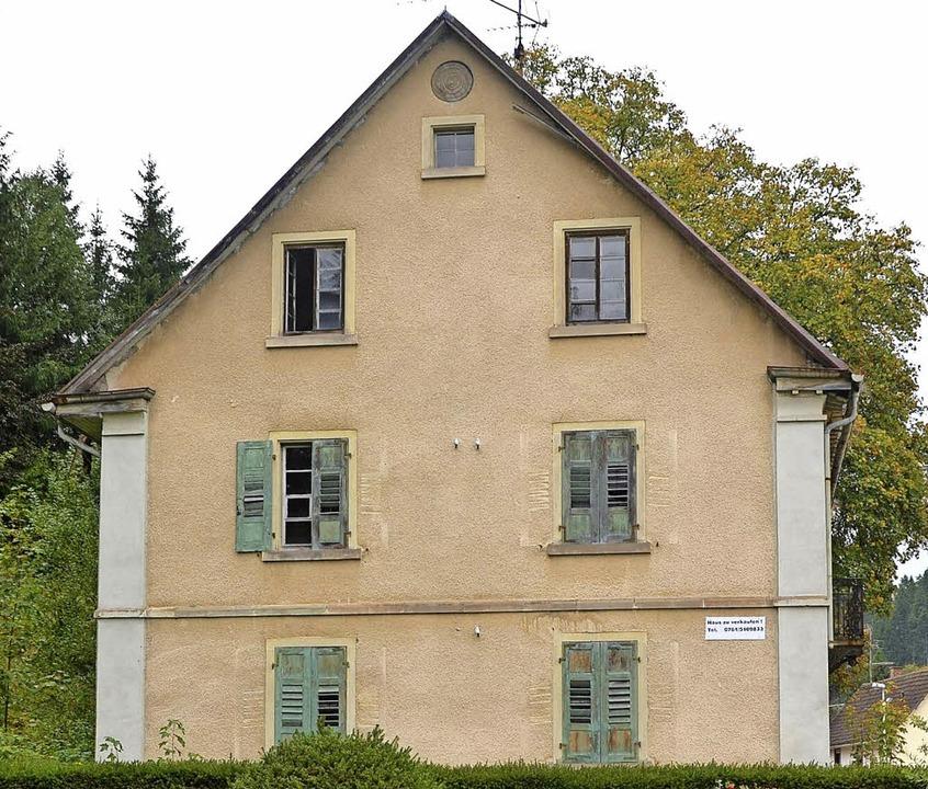 Die einstige Villa Spiegelhalder soll aus dem Ortsbild verschwinden.     Foto: r. MOrys