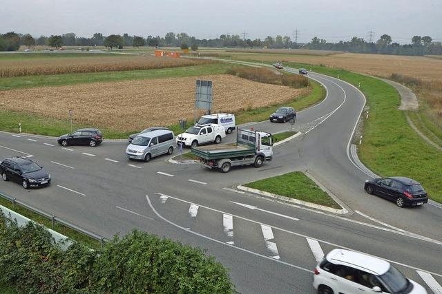 Baubeginn für zwei Kreisel im Norden Bad Krozingens - Bauarbeiten dauern bis Ostern