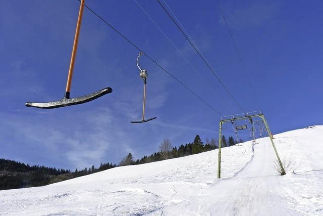 Rettung für den Skilift ist in Sicht