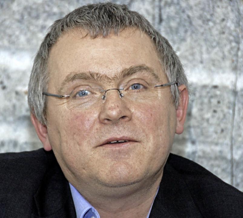 Andreas Lauble, Leiter des Lörracher Stadtarchivs  | Foto: Nikolaus Trenz