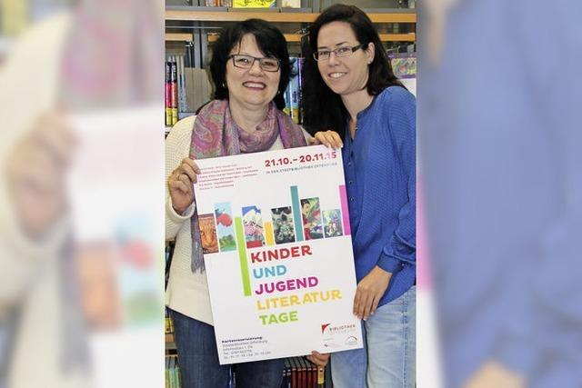 Erin Hunter in der Stadtbibliothek