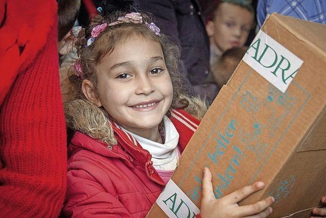 Paketaktion für Kinder in Osteuropa von Neustadt und Löffingen aus