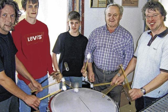 Paukenschlag in der Musikschule