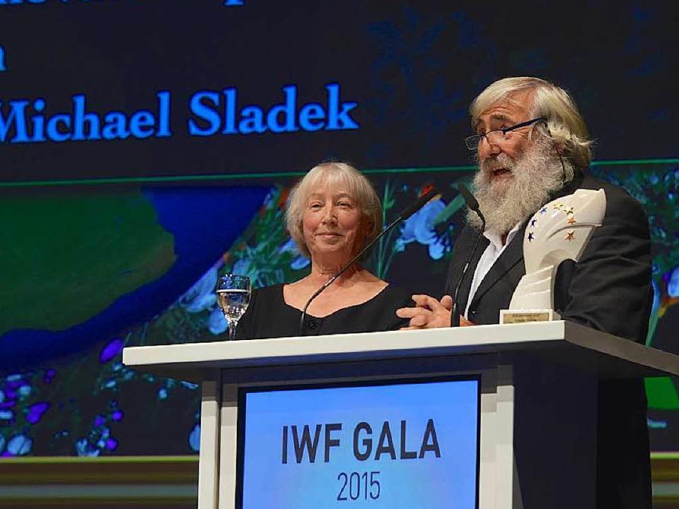 Das Ehepaar Sladek in Baden-Baden  | Foto: IWF Baden-Baden (Klaus Schultes)