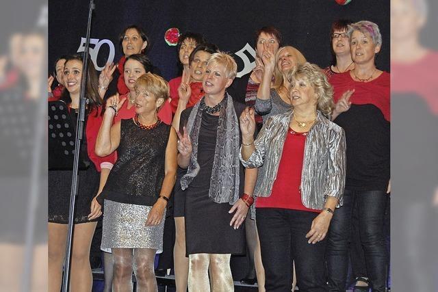 New Gospel Singers von Murg erfüllen die Thimoshalle mit Liebe