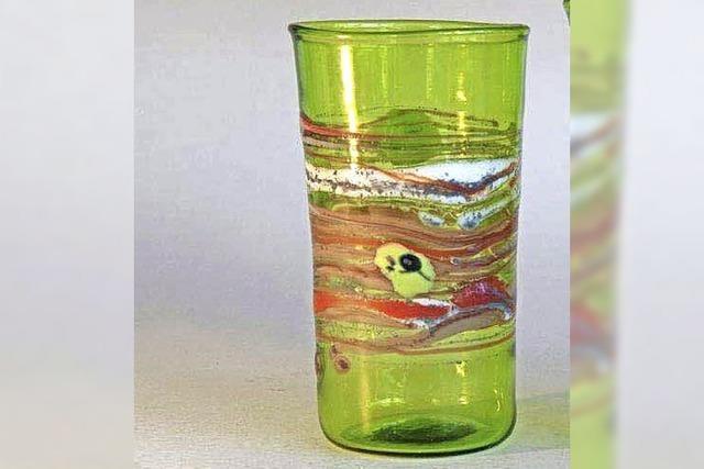 Fragile Glaskunst vom Meister