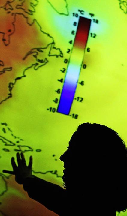 Die Erderwärmung geht mit großen Risiken einher.   | Foto: DPA