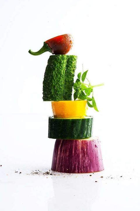 Die neuen Küchenstars: Gemüse und Salat in allen Variationen  | Foto: Michael Wissing BFF