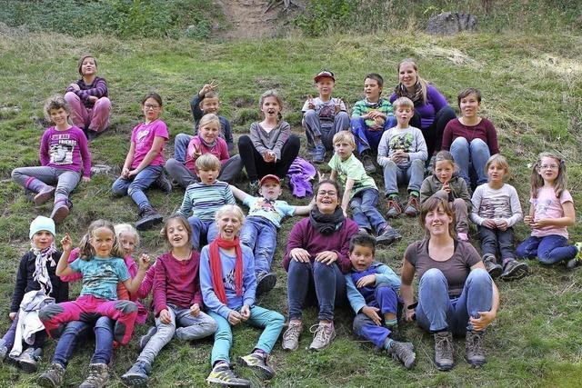 Kinder erleben die Natur auf spannende Weise