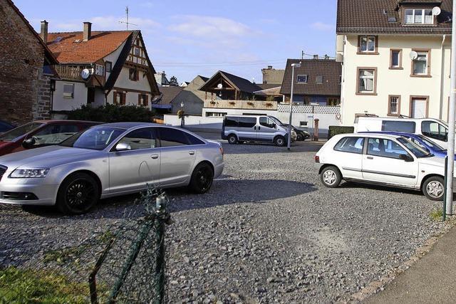 Neue Parkplätze in der Ortsmitte