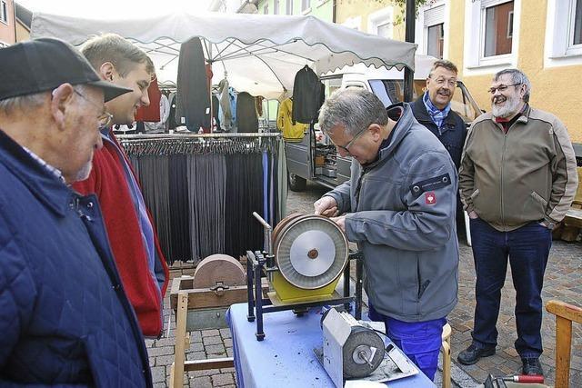 Chilbimarkt-Bummel und dann Metzgete